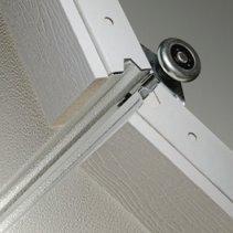 CHI white garage door hardware