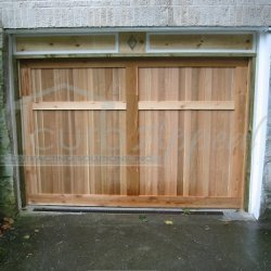 Custom Carriage Door with Header