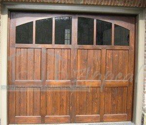 Custom Cypress Carriage Door