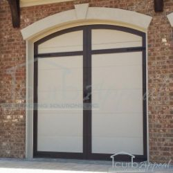 Steel Carriage Style Garage Doors