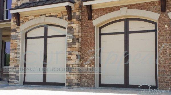 Steel Carriage Style Garage Doors