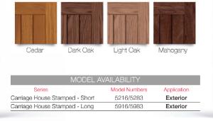 CHI Accents Wood Tones