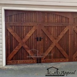 Wooden Carriage Door Atlanta